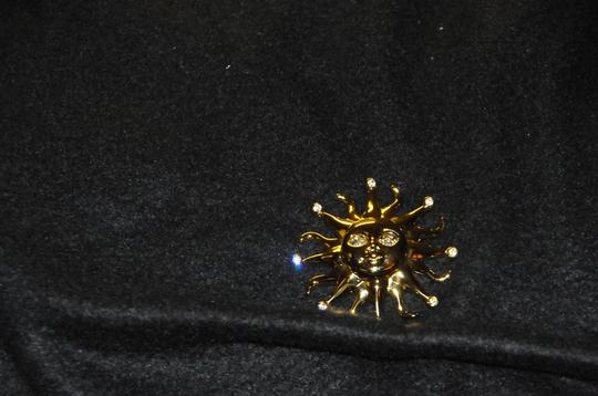 Kenneth Jay Lane Sun Beam Pin Vintage New Collectable #4396
