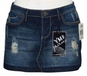 YMI Jeans Mini Skirt