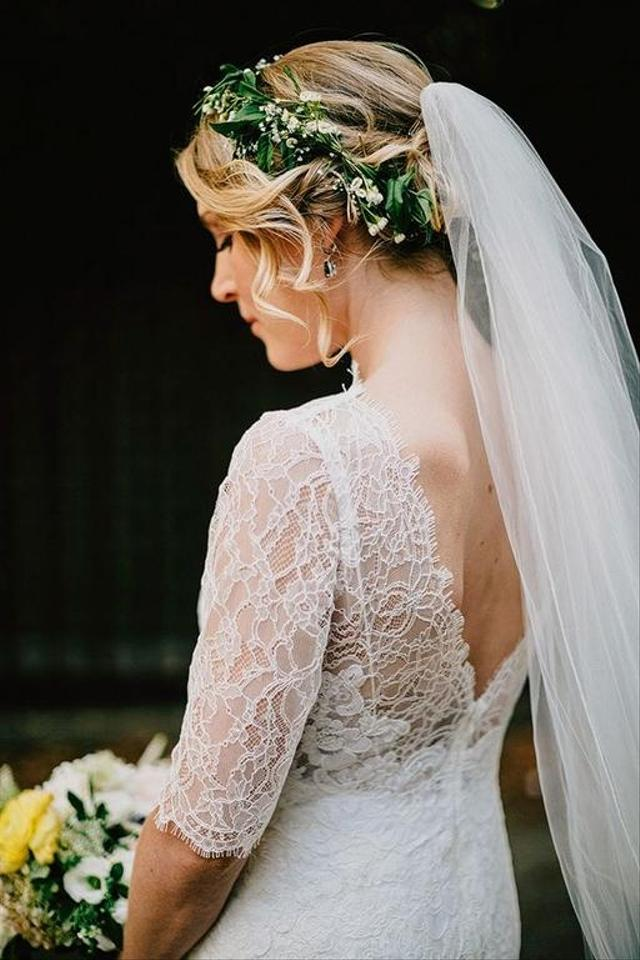 Watters Ivory Lace / Amaretto Slip / Kerry Gown Style 4096b Wedding ...