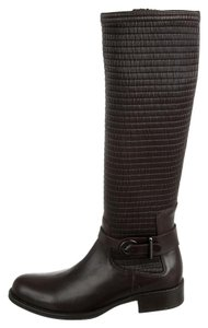 Aquatalia by Marvin K. Fall Leather Knee-high Brown Boots