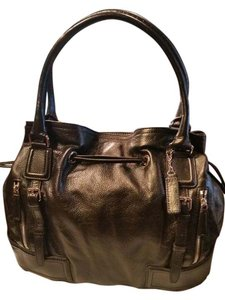 Cole Haan Leather Drawstring Hobo Bag