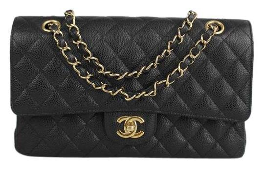 Preload https://img-static.tradesy.com/item/18564250/chanel-medium-double-flap-black-caviar-leather-shoulder-bag-0-3-540-540.jpg