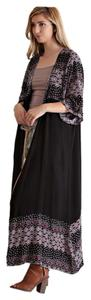 Other Duster Maxi Length Tribal Rayon Quality Cardigan