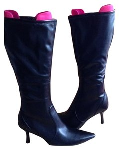 Kenneth Cole Reaction Tall Knee Black Boots