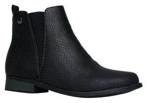 Mark and Maddux Closed-toe Low Avery01blackpu-9 Black Boots