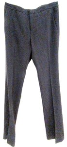 Gucci Wool Slacks Crepe Slacks Crepe Trouser Pants Black