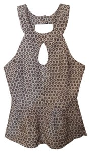 Anthropologie Vanessa Virginia Top White and brown