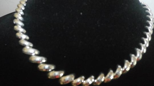 Milor MILOR ITALY DIAMOND CUT Sterling Silver SAN MARCO CHAIN NECKLACE