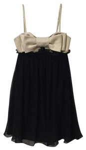 Betsey Johnson Bow Chiffon Dress