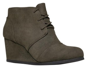 City Classified Olive Green Boots