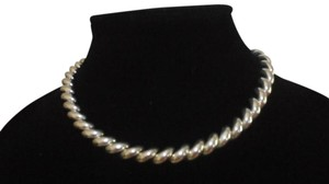 ITALY DIAMOND CUT Sterling Silver SAN MARCO CHAIN NECKLACE