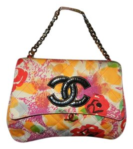 Chanel Classic Flap Satchel in Multicolor