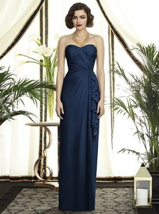 Dessy Navy 2895 Dress