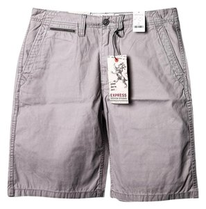 Express Cargo Shorts Men Cargo Jeans-Medium Wash