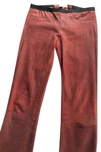 Helmut Lang Leather Lambskin Skinny Pants fever