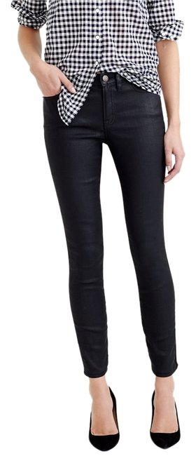 Item - Black Coated Date Night Skinny Jeans Size 29 (6, M)