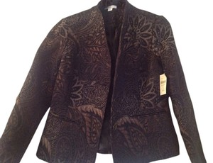 Coldwater Creek chocolate Blazer