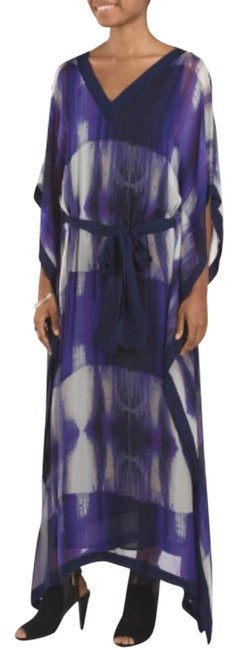 Preload https://img-static.tradesy.com/item/18572071/halston-violet-poncho-sleeve-evening-silk-bn-long-night-out-dress-size-2-xs-0-3-650-650.jpg