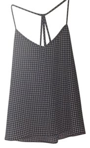 Abercrombie & Fitch Top Black, white, checkered