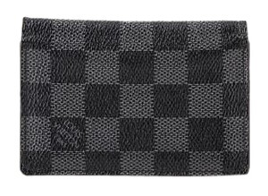Louis Vuitton * Louis Vuitton Damier Graphite Canvas Pocket Organiser