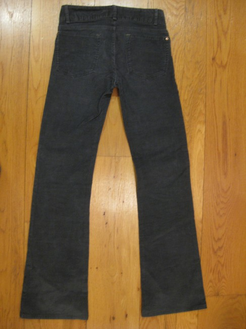 Gap Perfect Grey Charcoal Corduroy Casual Professional Office New Never Worn Great Condition 00 24 Cotton Spandex 32 Style Boot Cut Pants