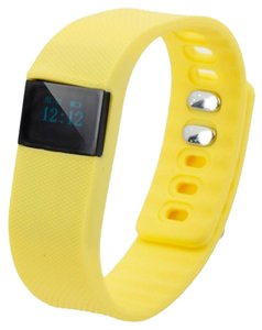 Other Yellow Multi-Function Smart Bracelet Health Sports Pedometer Watch