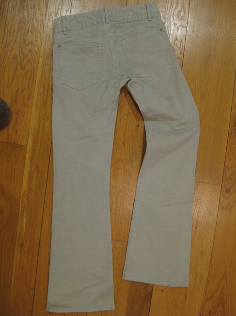 Gap Corduroy Cotton Spandex 5 Pocket Pocket Beige Grey Petite 29 Inseam 00 24 Bootfit Fit Perfect Style Casual Office Non Boot Cut Pants