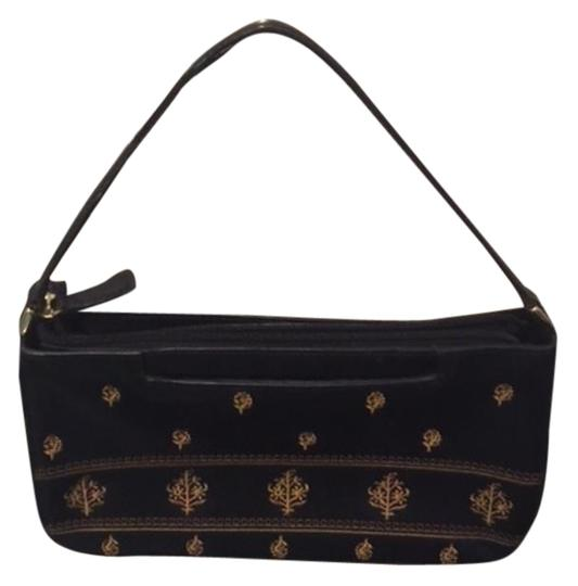 Preload https://img-static.tradesy.com/item/18573070/adrienne-vittadini-with-gold-embroidery-design-black-leather-clutch-0-2-540-540.jpg