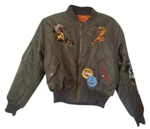 Ed Hardy Green Jacket