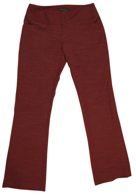 The Limited Drew Drew Fit Size 0 Size 2 Red Cranberry 30 Inseam Polyester Rayon Spandex Dress Non-smoking 0 2 Unworn Never Worn Pants
