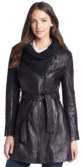 Preload https://img-static.tradesy.com/item/18573256/elie-tahari-black-l-alexandra-knit-collar-belted-lambskin-leather-trench-coat-size-10-m-0-1-650-650.jpg