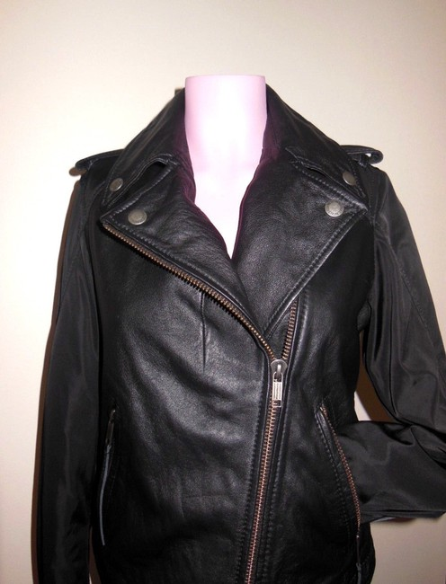 Diesel Leather Motorcycle Jacket
