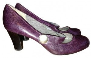 Liz Claiborne Plum Pumps