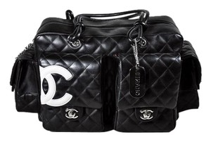 Chanel Cambon Ligne Reporter Cc Rare Shoulder Bag