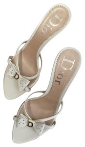 Dior Pumps Christian Christian Pumps Vintage White Sandals