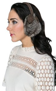 Costa Blanca Rabbit Fur Earmuffs
