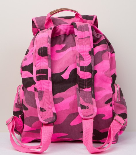PINK Limited Edition Canvas Cotton Backpack Image 8