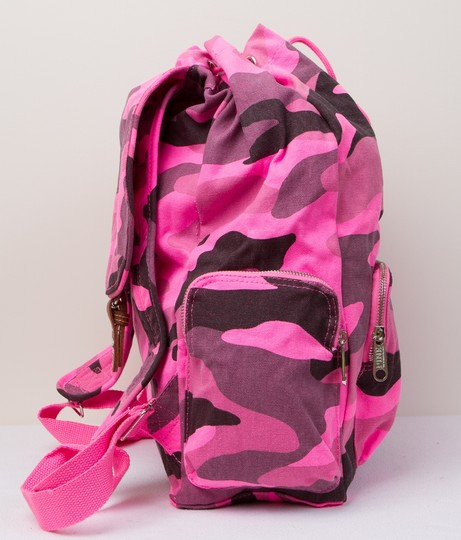 PINK Limited Edition Canvas Cotton Backpack