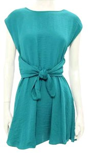 Rebecca Taylor short dress Teal on Tradesy