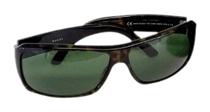 Gucci Tortoiseshell Rectangle Sunglasses