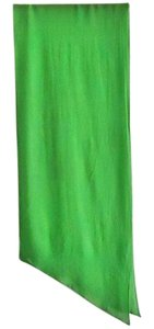 NEW grass-green polyested slanted ends