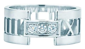 Tiffany & Co. Atlas white with diamonds
