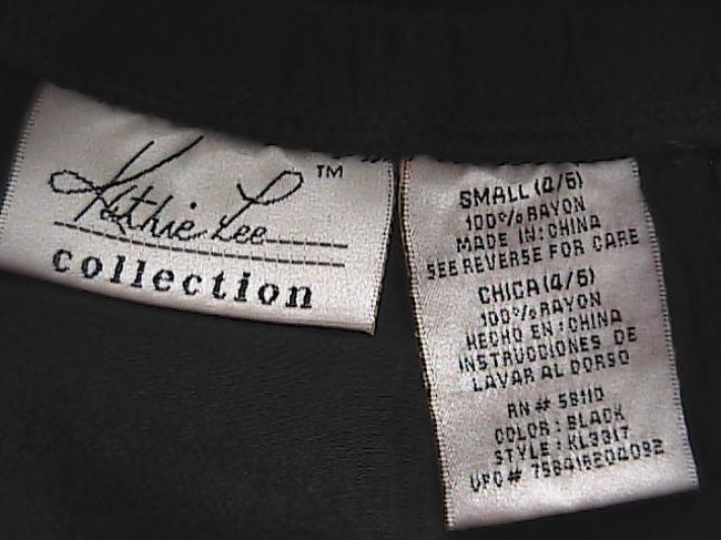 Kathie Lee Collection Very Lovely Symmetrical Skirt Black