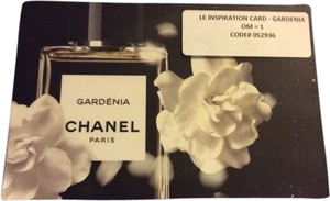 Chanel Lot Of 25x Chanel Gardenia Postcards