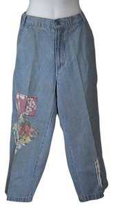 Xhilaration Summer Capri Pants Capri/Cropped Denim-Light Wash