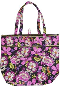 Vera Bradley Quilted Pink Pirouette Tote in Multicolored