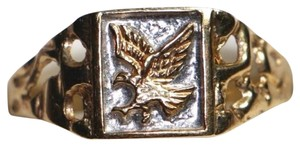 Other 10K SOLID YELLOW GOLD EAGLE RING