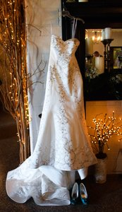 Jasmine Bridal Gorgeous Beaded Mermaid Wedding Dress