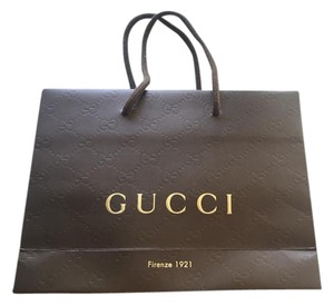 Gucci Authentic Gucci Small Shopping Bag Embossed Logo