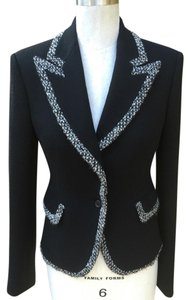 Monique Lhuillier black Blazer